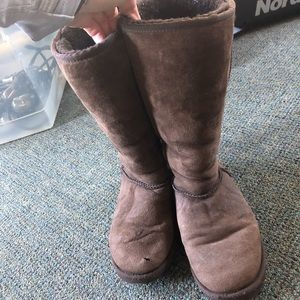 Used tall brown UGG's